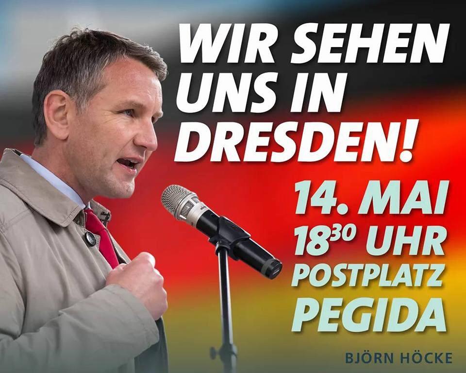 #PEGIDA #DRESDEN – MONTAG, 14.05.2018 UM 18.30 UHR
